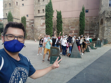 Un divertido Free Tour por el casco histórico de Barcelona