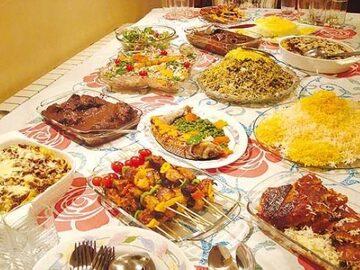 Tour della cucina persiana.
