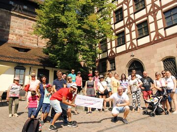 Walking Tour through the streets of Nuremberg