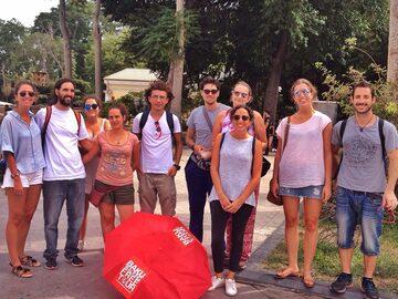 Free tour a pie original de Bakú