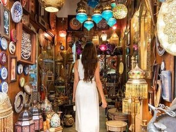 Free Tour: The Historical Souk of Khan El Khalily & Moaz St