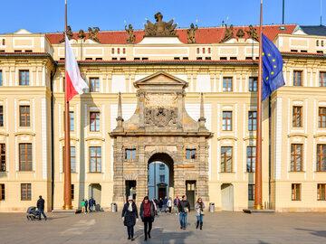 Free tour al Castillo de Praga, puente de Carlos IV y Mala Strana