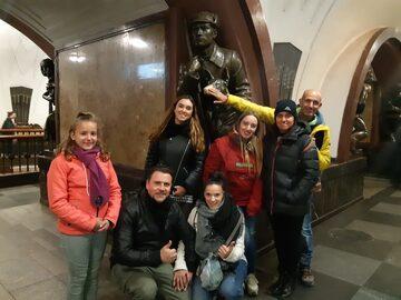Free Tour en el Metro de Moscú