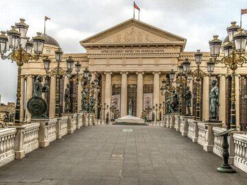 Skopje cammina ed esplora Free Tour