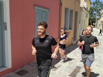 Athen Highlights Trail Urban Run
