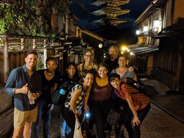 Free Tour por la noche de Kioto
