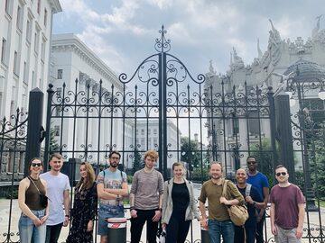 Tour a piedi moderno di Kiev