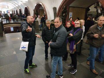 Free Tour por el Metro de Moscú en español