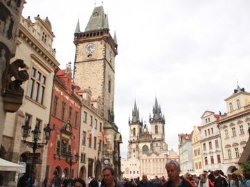 Viaje en el tiempo por Praga: el único en alemán