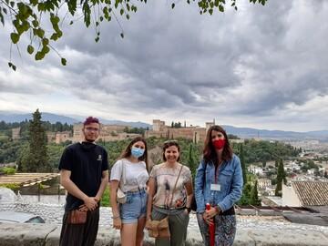 Granada viewpoints free tour