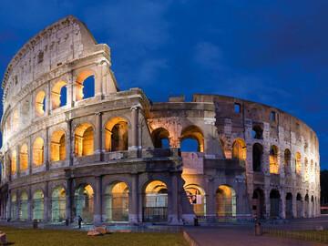 Il Colosseo e il Foro Romano