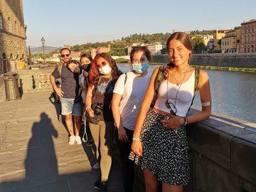 Free walking tour in Florenz: der Zauber des Sonnenuntergangs