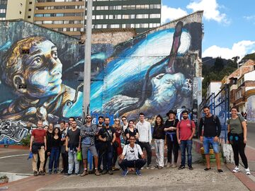 Kostenlose Graffiti Tour Bogotá