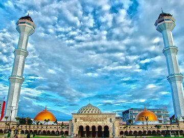 Esplorando la bella città di Bandung