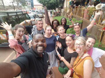 Kampala a pie gratis