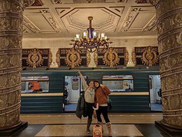 FreeTour METRO de San Petersburgo: Palacio Bajo Tierra