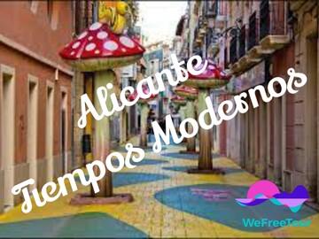Free walking tour Alicante: Moderne Zeiten