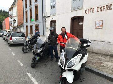 In moto attraverso Los Oscos