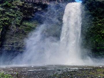 Quito's secret waterfall