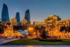Night Baku / Ночной Баку