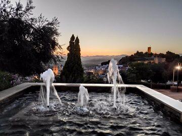 Vélez-Málaga, walk at sunset.