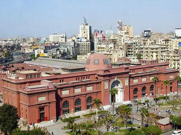 Visita al Museo Egipcio (Museo de Antigüedades Egipcias)