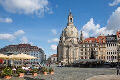 Con leyendas y leyendas a través del alma de la ciudad de Dresde.