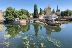 Erstaunliche Straßburger Wanderung