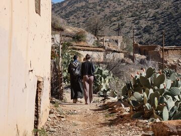 Day trip in High Atlas mountains