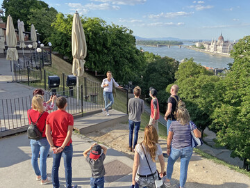 Free guided tour Buda Castle