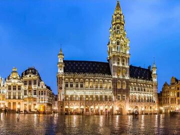 Tour notturno gratuito di Bruxelles