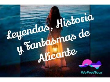 Free walking tour Fantasmi, leggende e misteri di Alicante