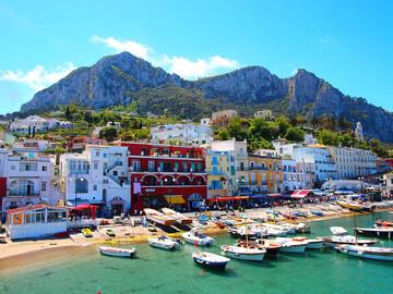 Essential Free Tour von Capri mit einem Caprese