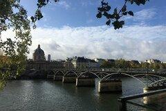 Free walking tour durch das Zentrum von Paris entlang der Seine