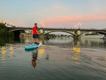 Sunset Paddle Surf in Historic Seville