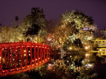 Free walking tour durch Hanoi