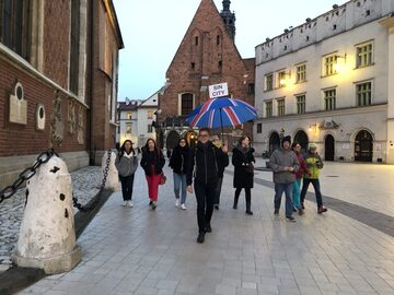 Free walking tour durch Sin City