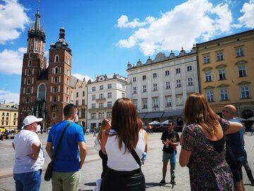 Tour gratuito della città vecchia di Cracovia