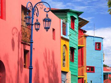 La Boca: Tango, Farbe und Fußball