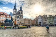 Die eindrucksvollsten Ecken von Prager Altstadt