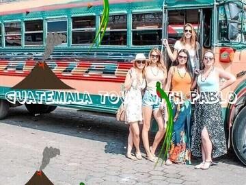 Unglaubliche free walking tour durch Antigua!