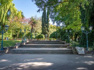 Free walking tour durch die Stadt Mendoza