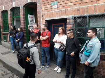 tour gastronomico a piedi Bogotá