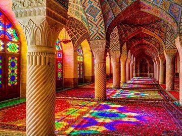 Moschee e case storiche di Shiraz
