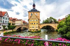 Tour a piedi gratuito della città vecchia di Bamberga