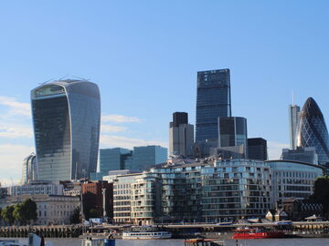 The City of London: Tower of London, Tower Bridge and St. Paul