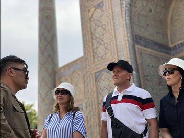 Tashkent oriental, soviético e incalculable.