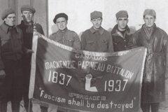 Bürgerkrieg II - Die Front und die Freie Tour der Internationalen Brigaden -