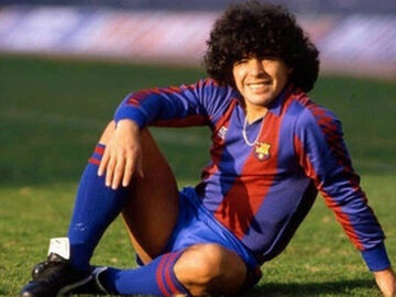 La leggenda di Maradona a Barcellona