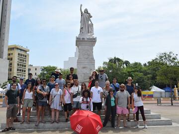 Kostenlose Walled City Tour durch Cartagena von Beyond Colombia